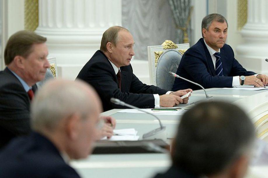 Встреча Президента с новоизбранными губернаторами
