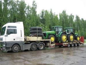 Доставка грузов из Санкт-Петербурга в отдаленный Ханты-Мансийск