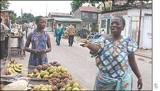 Рынок Киншасы