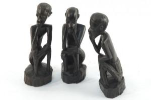 Статуэтки из черного дерева