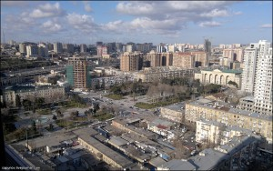 Утро в Баку