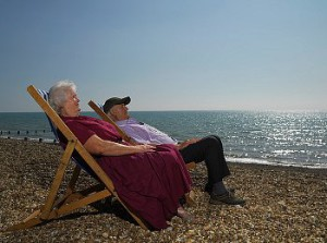 Пенсионеры Украины все чаще становятся туристами