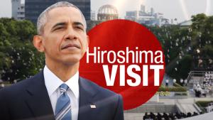 Барак Обама посетил парк Мира в Херосиме