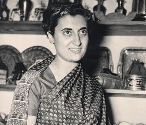 Женщины и политика – Индира Ганди