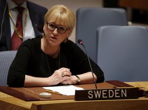 Глава МИД Швеции Маргот Валльстрьом