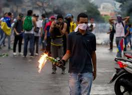 Голодный бунт в Венесуэле