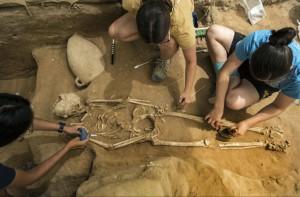 В Израиле обнаружено кладбище древних филистимлян