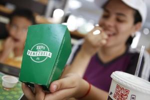 В ресторанах быстрого питания McDonald's Венесуэлы прекратили подачу Биг-Маков из-за сложности в поставках основных составляющих