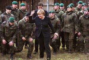 Германия будет активнее использовать бундесвер