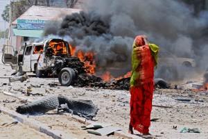 Взрыв в столице Сомали, есть жертвы и пострадавшие