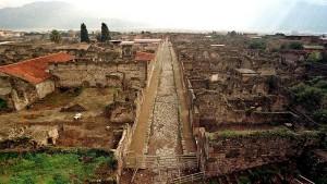 Помпеи – город, погребенный под лавой