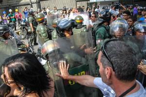 Венесуэла погрузилась во всеобщую забастовку