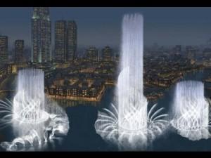 Танцующие фонтаны Дубая
