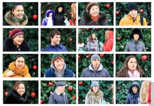 Жители Алматы