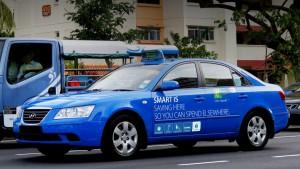 О самом необычном такси в Сингапуре