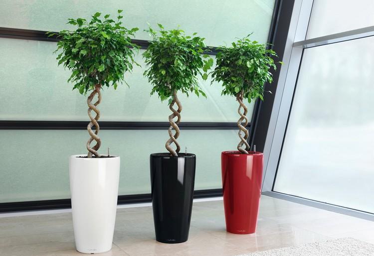 Напольная ваза – оригинальное украшение интерьера