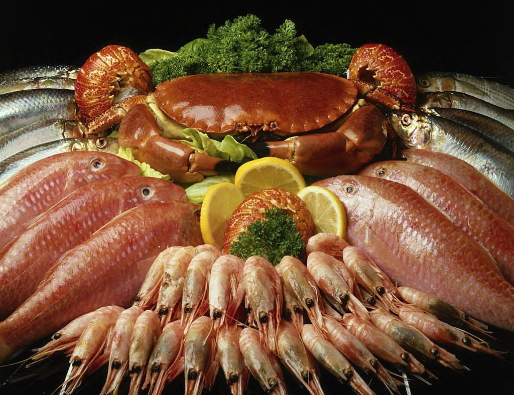 О пользе морепродуктов