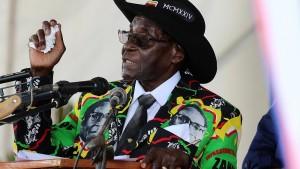 Роберт Мугабе отстранен от власти?