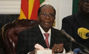 Отставка Роберта Мугабе