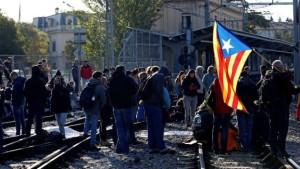 Каталония протестует против ареста лидеров региона