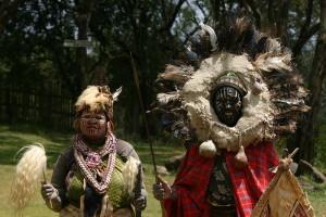 Маски шаманов