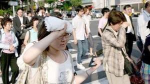 Жара в Японии бьет все температурные и временные рекорды продолжительности
