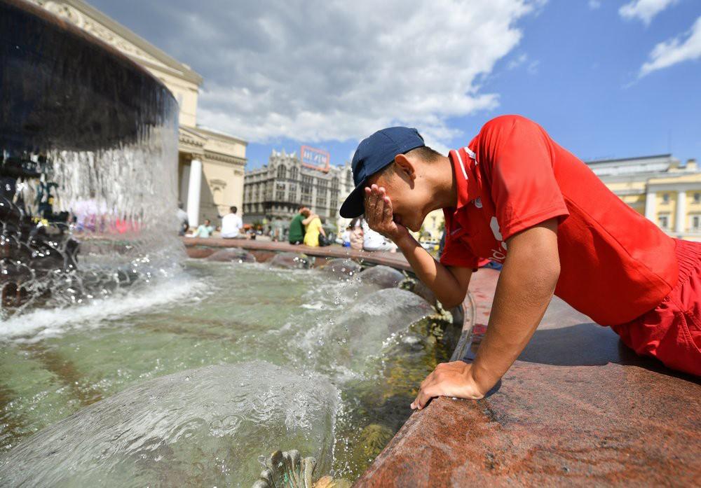 Аномальная жара стала следствием глобального потепления климата