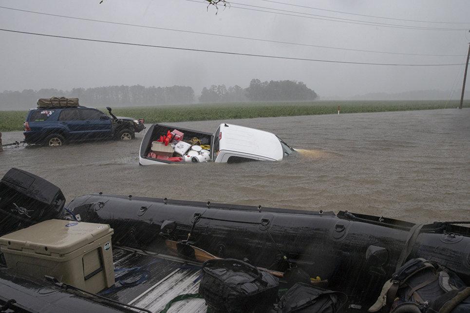 Ураган Флоренс и последствия для Уилмингтона
