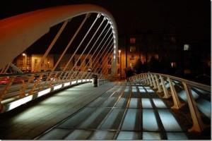 Дублинский на мост Джеймса Джойса