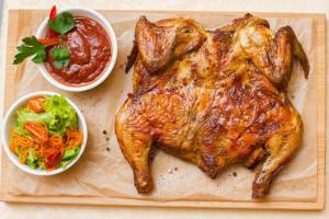 Лучшие блюда грузинской кухни: цыпленок табака, рецепт приготовления