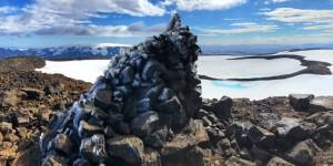 В Исландии «похоронили» ледник Okjokull