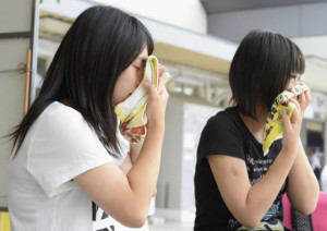 В Японии из-за сильной жары умерли 57 человек