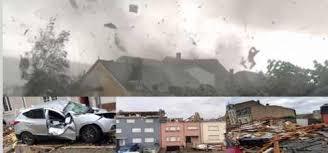 Более 100 домов и 19 человек пострадали в результате торнадо в Люксембурге