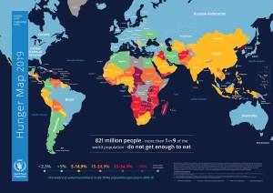 По данным ООН, каждый девятый человек на Земле, получает недостаточно еды