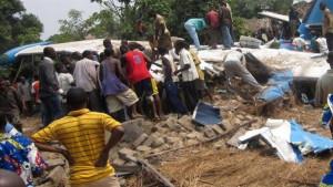 Более двух десятков человек погибли в результате крушения самолета в Конго