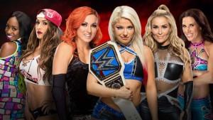 WWE проводит первый женский матч в Саудовской Аравии по борьбе