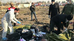Украинский авиалайнер разбился возле Тегерана, погибли все 176 пассажиров