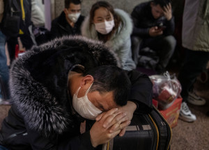 Китай борется с новым коронавирусом