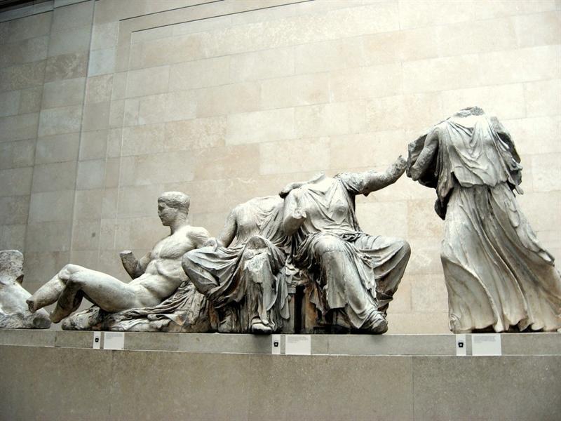 Фрагменты греческого Парфенона в Британском музее