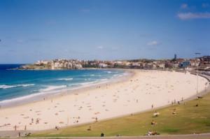 Пляж Бонди-Бич в Сиднее